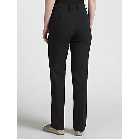 Buy Gardeur Dora Slim Leg Trousers, Black Online at johnlewis.com