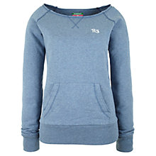 Buy Rampant Sporting Sweat Top, Blue/Grey Marl Online at johnlewis.com