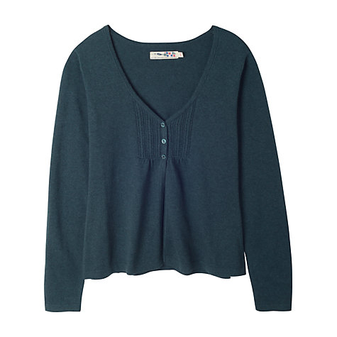 Buy Seasalt Turner Cardigan, Blue Online at johnlewis.com