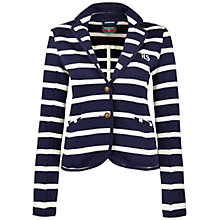 Buy Rampant Sporting Jersey Blazer, Peacoat/Off White Online at johnlewis.com