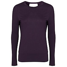 Buy French Connection Blake Wool Top, Cherry Tonic Online at johnlewis.com