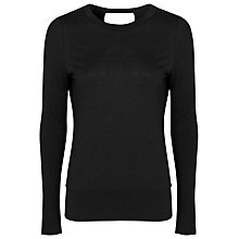 Buy French Connection Blake Top, Black Online at johnlewis.com