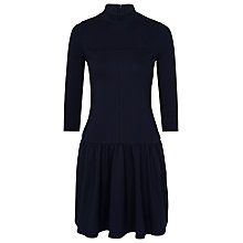 Buy French Connection Eddie Jersey Dress, Utility Blue Online at johnlewis.com