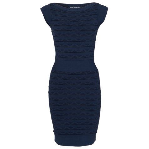 Buy French Connection Jive Bunny Knit Dress, Nocturnal Online at johnlewis.com