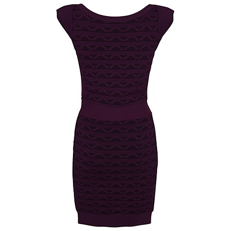 Buy French Connection Jive Bunny Dress, Cherry Tonic Online at johnlewis.com