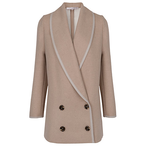 Buy French Connection Winter Serenade Coat, Oatmeal Online at johnlewis.com