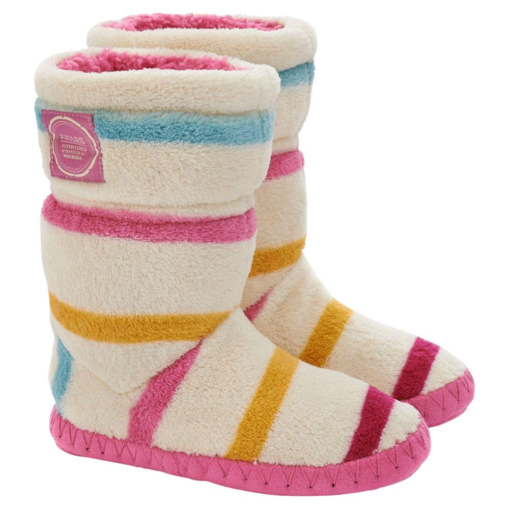 Little Joule Slipper Socks, Cream/Multi