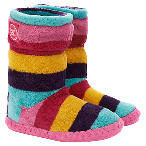 Buy Little Joule Slipper Socks, Violet Online at johnlewis.com