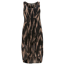 Buy Mint Velvet Jana Print Dipped Dress, Multi Online at johnlewis.com