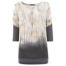 Buy Mint Velvet Gwen Silk Print Tunic Top Online at johnlewis.com