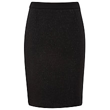 Buy Planet Tweedy Pencil Skirt, Black Online at johnlewis.com