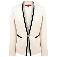 Buy Jacques Vert Powder Puff Occasion Jacket, Cream Online at johnlewis.com