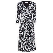 Buy Windsmoor Marble Print Jersey Dress, Grey Online at johnlewis.com