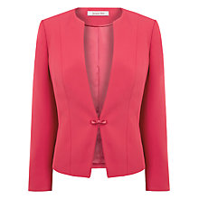 Buy Jacques Vert Lipstick Occasion Jacket, Pink Online at johnlewis.com