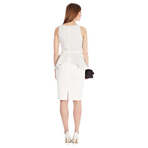 Buy Coast Ana Dress, Silver Online at johnlewis.com