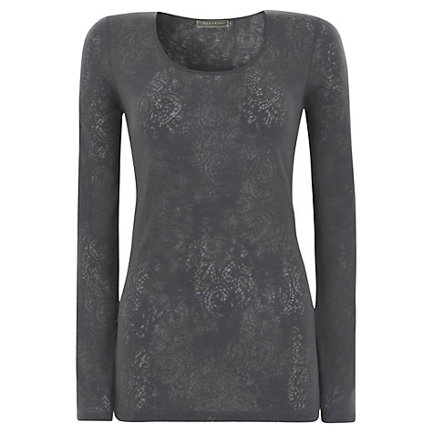 Buy Mint Velvet Long Sleeve Top Online at johnlewis.com