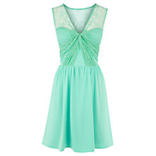 Buy Coast Serene Jersey Dress, Soft Green Online at johnlewis.com