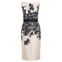 Buy Planet Lace Print Dress, Neutral Online at johnlewis.com