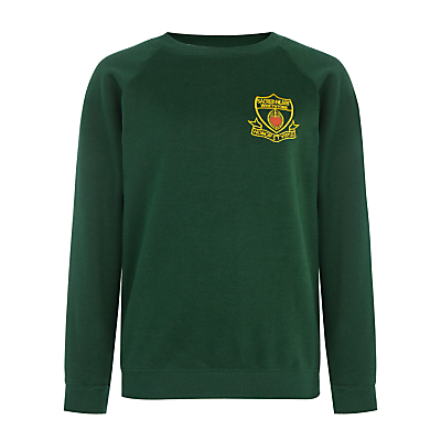 Sacred Heart Primary School Whetstone Unisex Sweatshirt Bottle Green