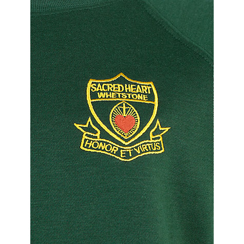 Buy Sacred Heart Primary School Whetstone Unisex Sweatshirt, Bottle Green Online at johnlewis.com