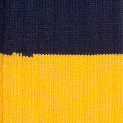 Buy Colfe's School Boys' Rugby Socks, Navy/Yellow Online at johnlewis.com
