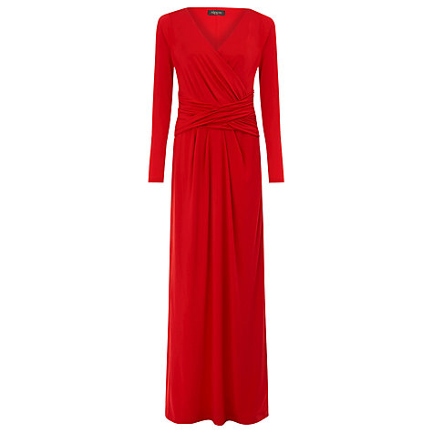 Buy Alexon Jersey Maxi Dress. Red Online at johnlewis.com