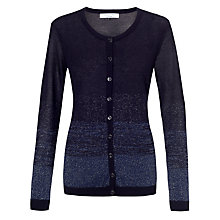 Buy COLLECTION by John Lewis Phoebie Lurex Cardigan, Navy Online at johnlewis.com