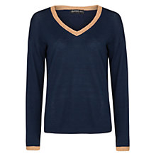 Buy Mango V-Neck Jumper Online at johnlewis.com