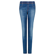 Buy Mango Dark Wash Jeggings, Navy Online at johnlewis.com