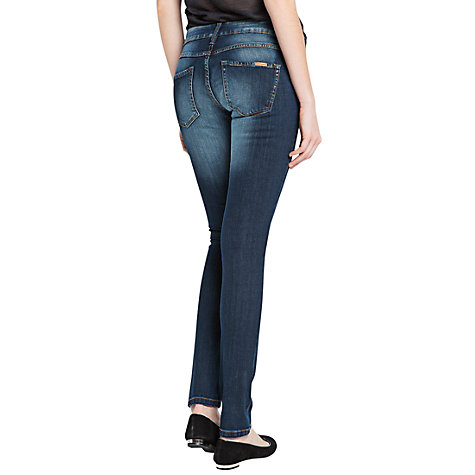 Buy Mango Super Slim Fit Jeans, Navy Online at johnlewis.com