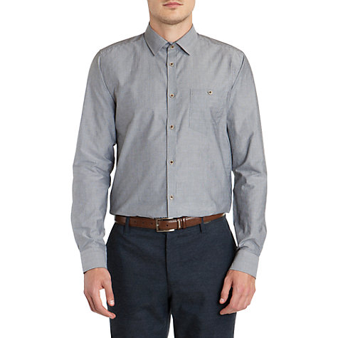 Buy Ted Baker Sebbcoe Stripe Dobby Shirt Online at johnlewis.com