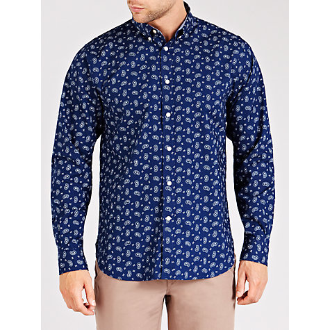 Buy Dockers Bandana Print Shirt, Indigo Online at johnlewis.com