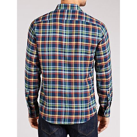Buy Dockers Long Sleeve Check Shirt, Multi Online at johnlewis.com