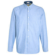 Buy Dockers Polka Dot Print Shirt, Chambray Online at johnlewis.com