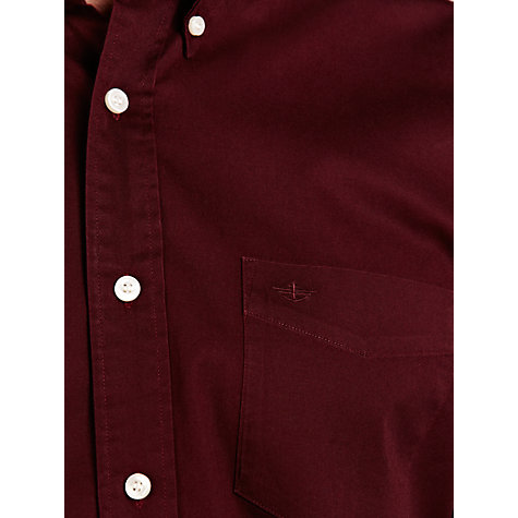 Buy Dockers Khaki Shirt, Burgundy Online at johnlewis.com