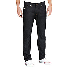Buy Diesel Darron 8Z8 Tapered Jeans, Indigo Blue Online at johnlewis.com