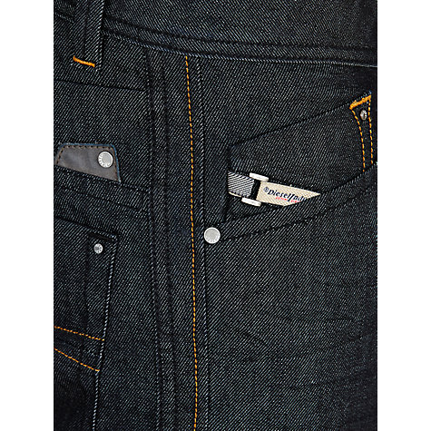 Buy Diesel Darron Tapered Jeans, Indigo Blue 8Z8 Online at johnlewis.com