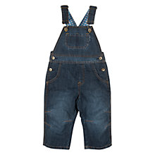 Buy Polarn O. Pyret Denim Dungarees, Navy Online at johnlewis.com
