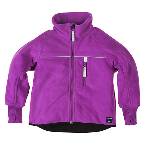 Buy Polarn O. Pyret Fleece Jacket, Acai Online at johnlewis.com