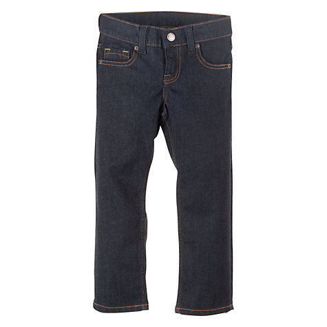 Buy Polarn O. Pyret Regular Fit Denim Jeans, Dark Denim Online at johnlewis.com