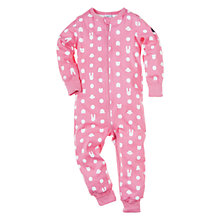 Buy Polarn O. Pyret All in One Pyjamas, Macaroon Online at johnlewis.com