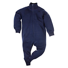 Buy Polarn O. Pyret Thermal Merino Romper, Navy Online at johnlewis.com