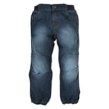 Buy Polarn O. Pyret Elasticated Jeans, Denim Online at johnlewis.com