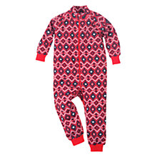 Buy Polarn O. Pyret Thermal Merino Wool Romper, Red Online at johnlewis.com