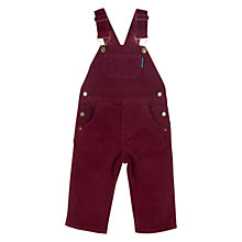 Buy Polarn O. Pyret Dungarees, Cassis Online at johnlewis.com