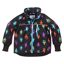Buy Polarn O. Pyret Fleece Jacket, Black/Multi Online at johnlewis.com