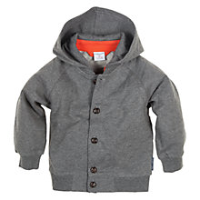 Buy Polarn O. Pyret Knitted Hoodie, Grey Online at johnlewis.com