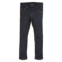 Buy Polarn O. Pyret Slim Fit Denim Jeans, Dark Denim Online at johnlewis.com