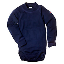 Buy Polarn O. Pyret Thermal Merino Bodysuit, Navy Online at johnlewis.com