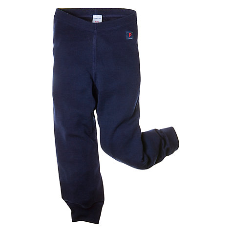 Buy Polarn O. Pyret Thermal Merino Leggings, Navy Online at johnlewis.com